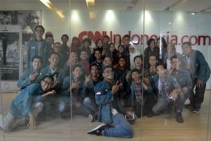 Kunjungan di CNN Indonesia
