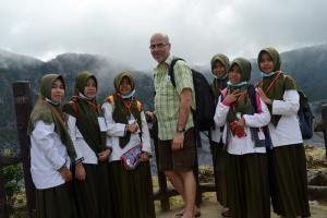 Kunjungan di Tangkuban Perahu