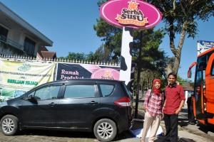 Kunjungan di Serba Susu Lembang