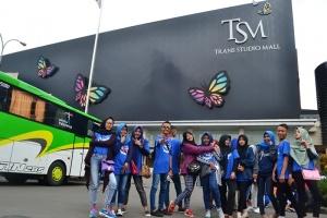 Kunjungan di Trans Studio Bandung