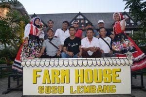 Kunjungan di Farm House Lembang