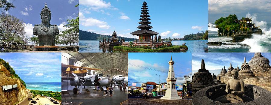PAKET TOUR LAMPUNG-BALI-JOGJAKARTA