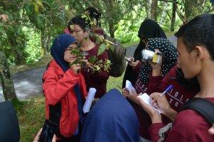 Praktikum di Kebun Raya Cibodas
