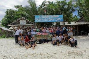 Wisata di Pulau Kelagian Lunik